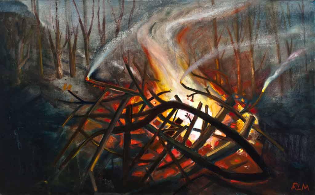 Artwork called Bonfire 2, 2013