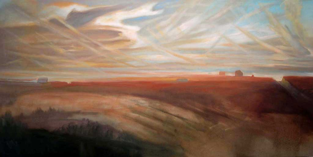 Plains Painting, 2007