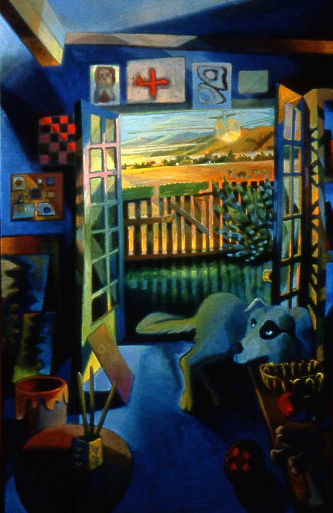 Poppy in the Studio, 2002